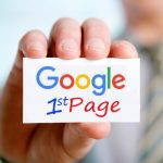 How to rank on the first page of Google